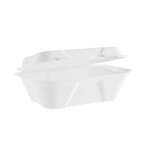 7x5'' Bagasse Clamshell