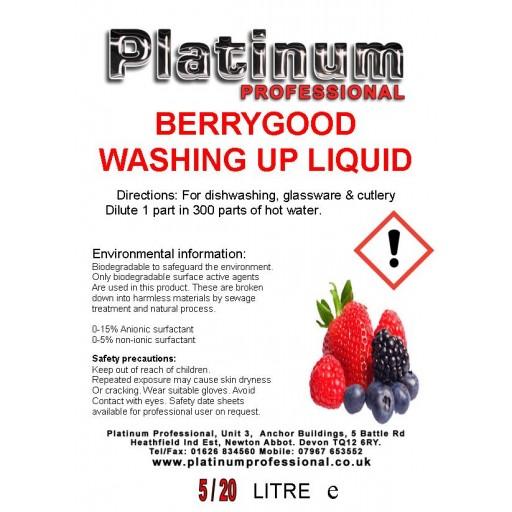 Berry Good Washing Up Liquid