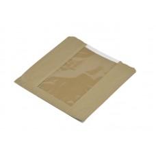 Brown Window Bag (8.5x8.5'')