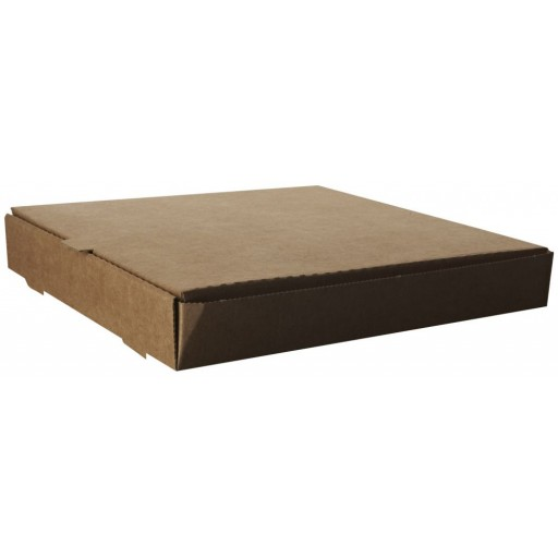 Compostable 12'' Kraft Pizza Box