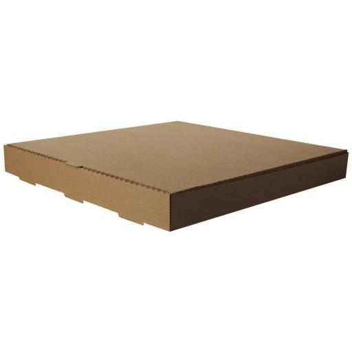 Compostable 16'' Kraft Pizza Box