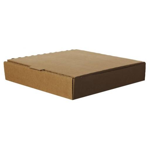 Compostable 9'' Kraft Pizza Box