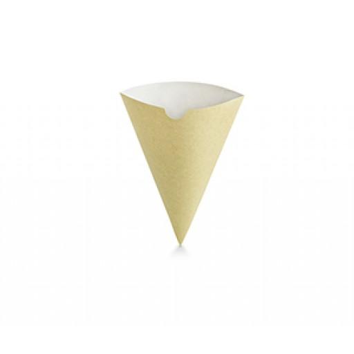 Compostable Kraft Chip Scoop