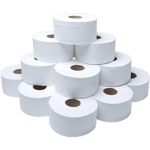 Mini Jumbo Toilet Rolls (for use with Dispenser)