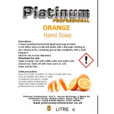 Orange Hand Soap
