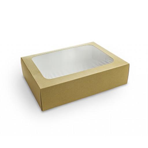 Regular Compostable Sandwich Platter (31x22.5x8.2cm)