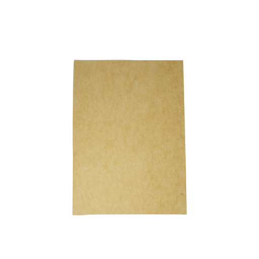 Unbleached Greaseproof Sheet 50gsm(300x275mm)