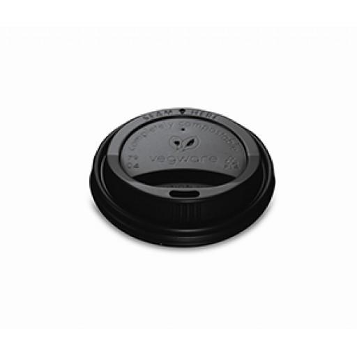 Black Hot Cup Lid (Fits size 8oz Cups)