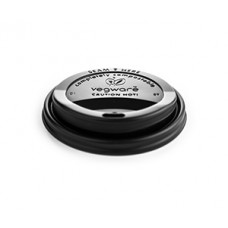 Black Hot Cup Lid (Fits size 10oz-20oz Cups)