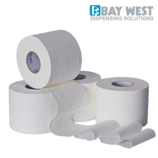Baywest Toilet Rolls (for use with Dispenser)